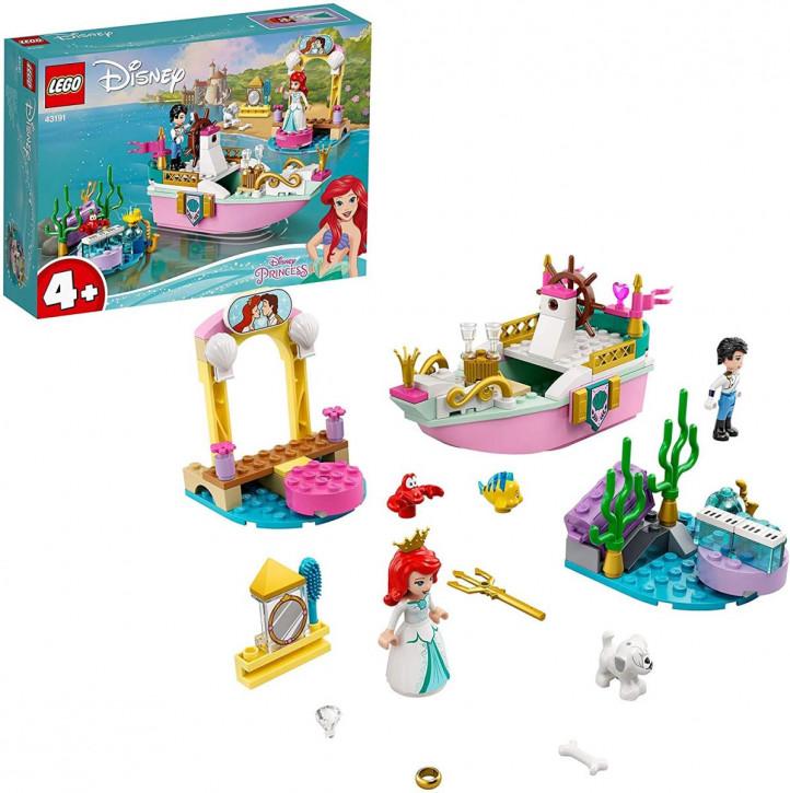 LEGO Disney 43191 - Princess Arielles Festtagsboot