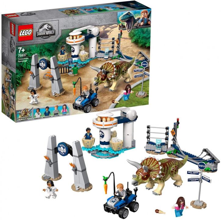 LEGO Jurassic World 75937 - Triceratops-Randale