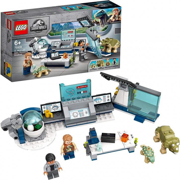 LEGO Jurassic World 75939 - Dr. Wus Labor: Ausbruch der Baby-Dinosaurier