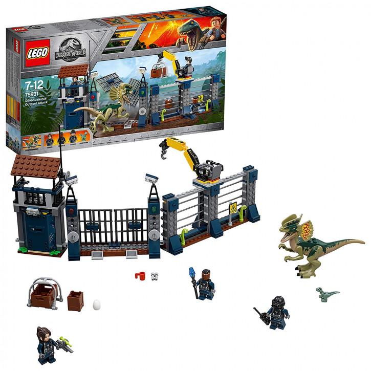 LEGO Jurassic World 75931 - Angriff des Dilophosaurus