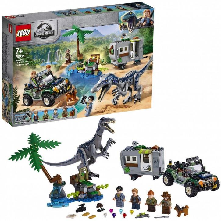LEGO Jurassic World 75935 - Baryonyx' Kräftemessen: die Schatzsuche