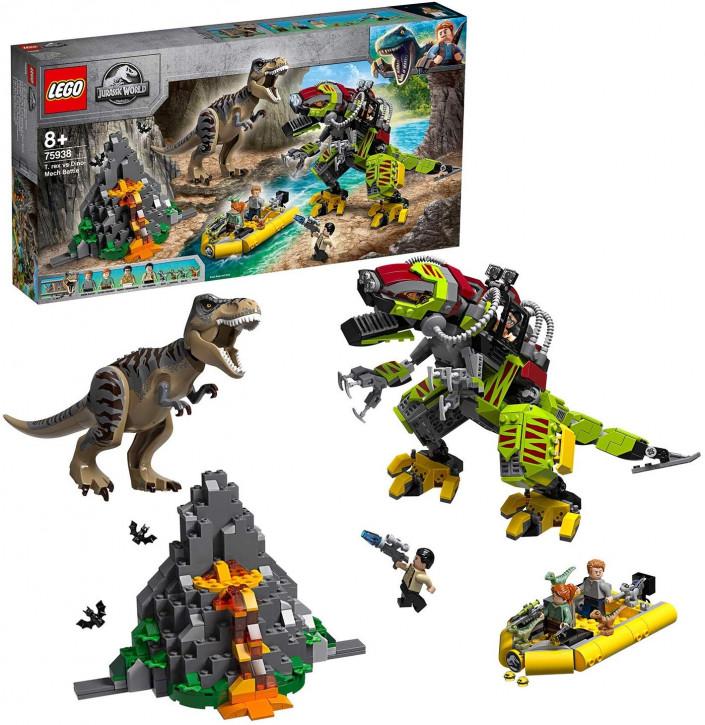 LEGO Jurassic World 75938 - T. Rex vs. Dino-Mech