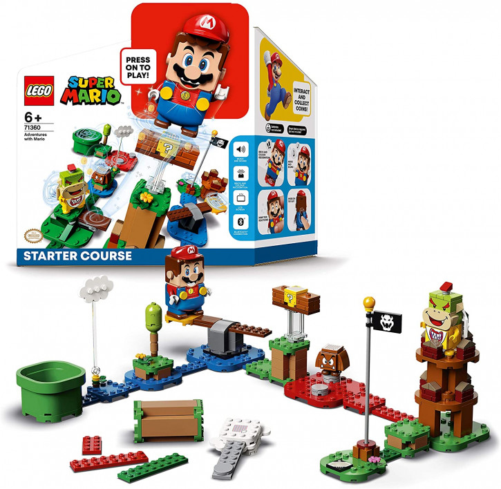 LEGO Super Mario 71360 – Abenteuer mit Mario Starterset
