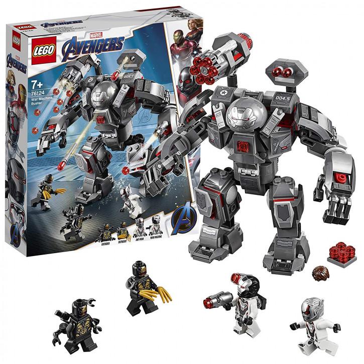 LEGO Marvel 76124 - War Machine Buster