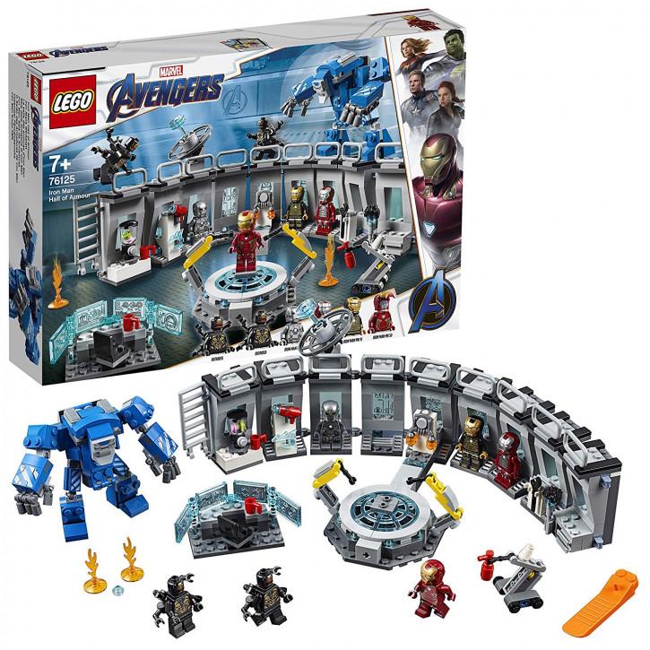 LEGO Marvel 76125 - Iron Mans Werkstatt