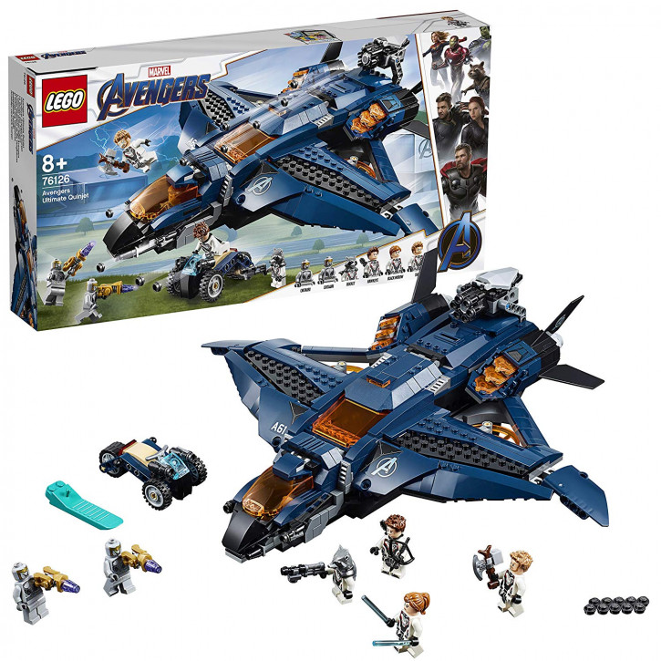LEGO Marvel 76126 -  Ultimativer Avengers-Quinjet