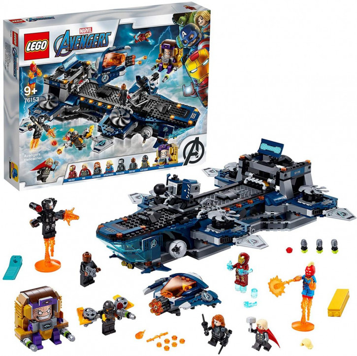 LEGO Marvel 76153 - Avengers - Helicarrier