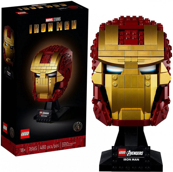 LEGO Marvel Super Heroes 76165 - Iron Man Helm