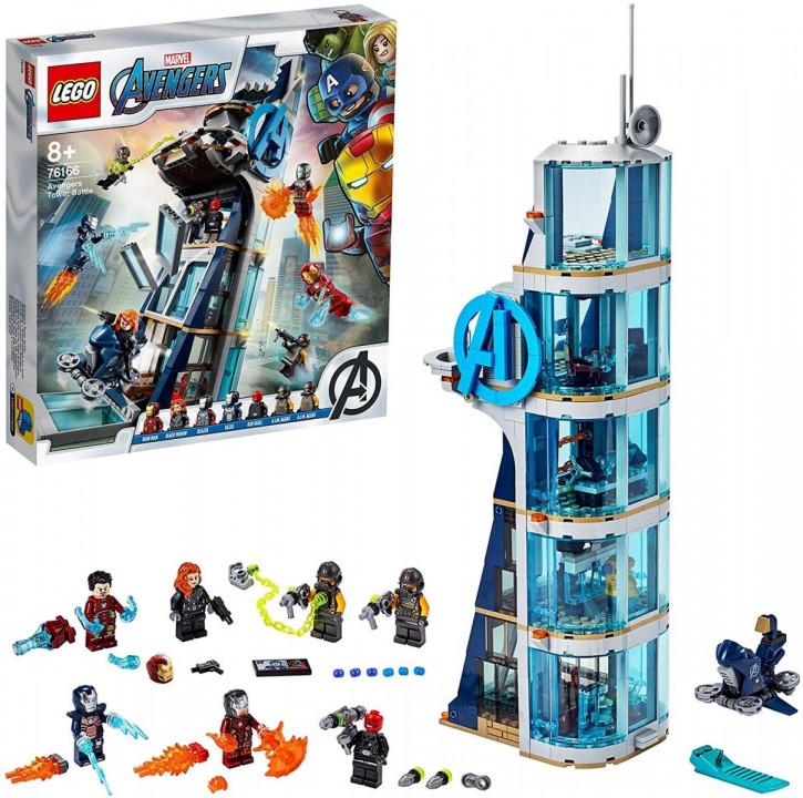 LEGO Marvel 76166 - Kräftemessen am Turm