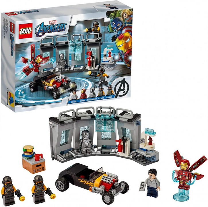 LEGO Marvel 76167 - Iron Mans Arsenal