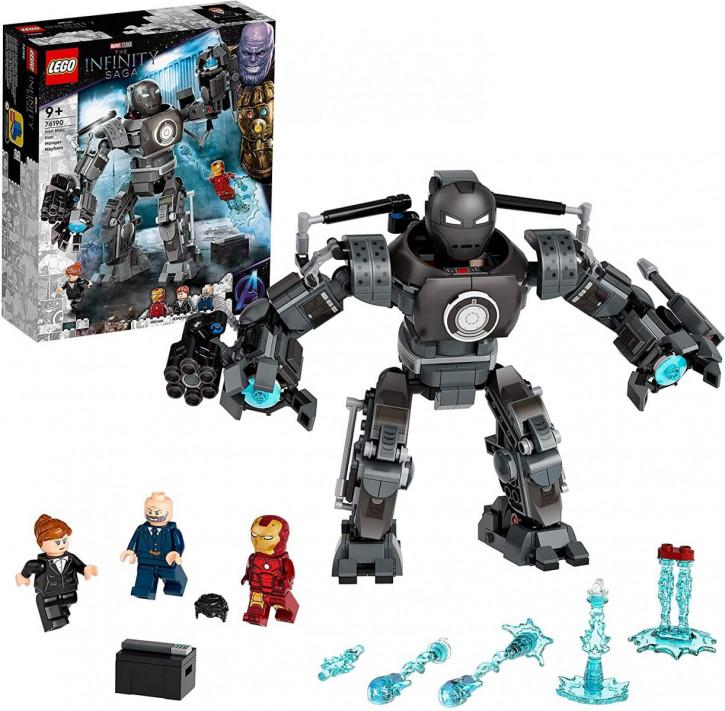 LEGO Marvel Super Heroes 76190 - Iron Man und das Chaos durch Iron Monger