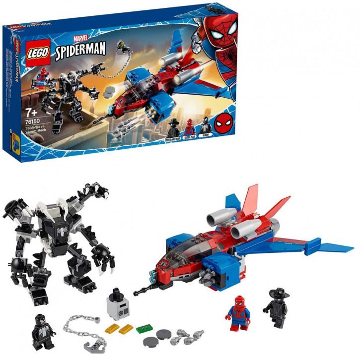LEGO Marvel Spider-Man 76150 - Spiderjet vs. Venom