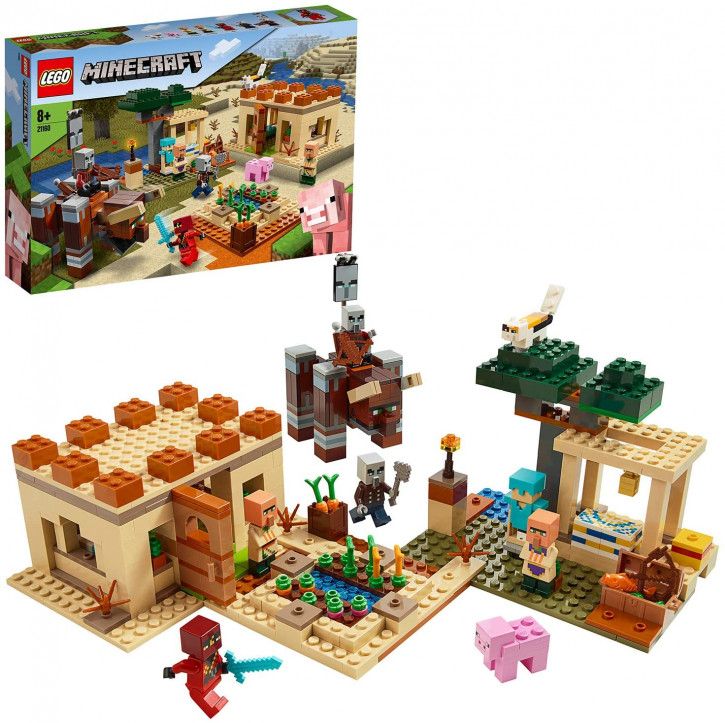 LEGO Minecraft 21160 - Der Illager-Überfall