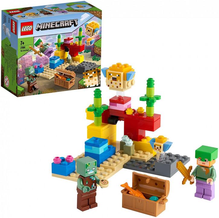 LEGO Minecraft 21164 - Das Korallenriff