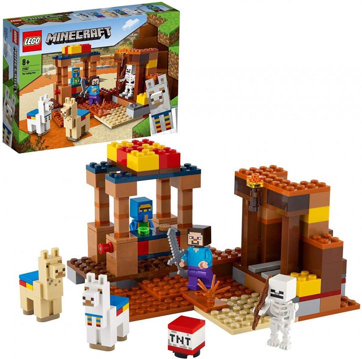 LEGO Minecraft 21167 - Der Handelsplatz