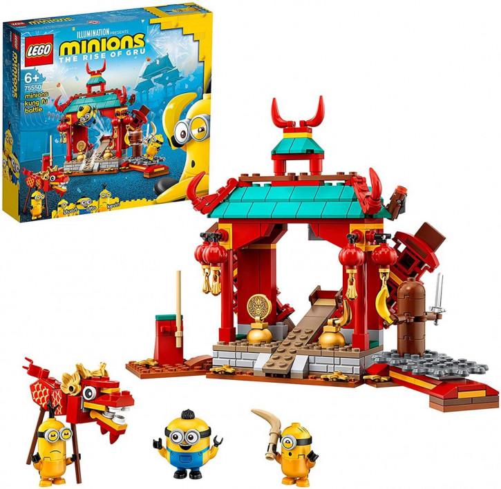 LEGO Minions 75550 - Minions Kung Fu Tempel