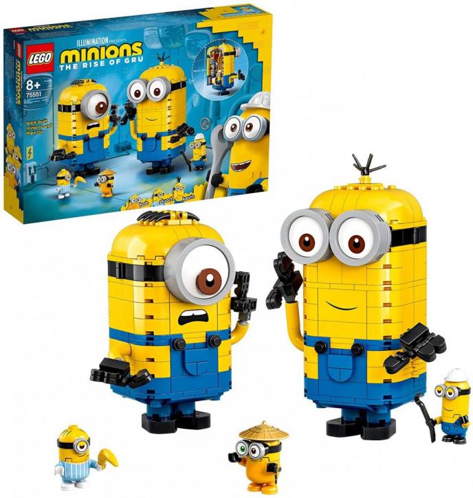 LEGO Minions 75551 - Minions-Figuren Bauset mit Versteck