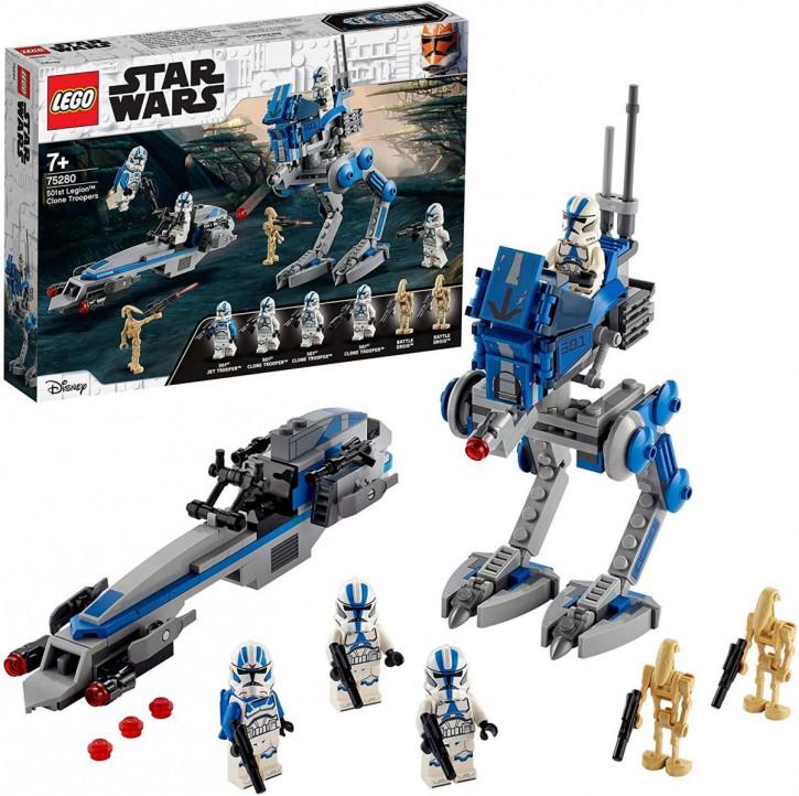 LEGO Star Wars 75280 - Clone Troopers der 501. Legion