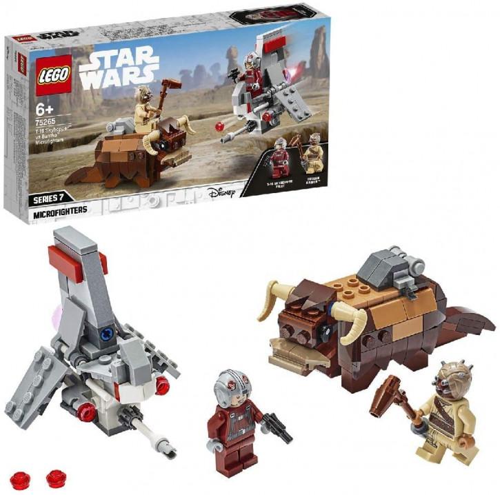 LEGO Star Wars 75265 - T-16 Skyhopper vs Bantha Microfighters