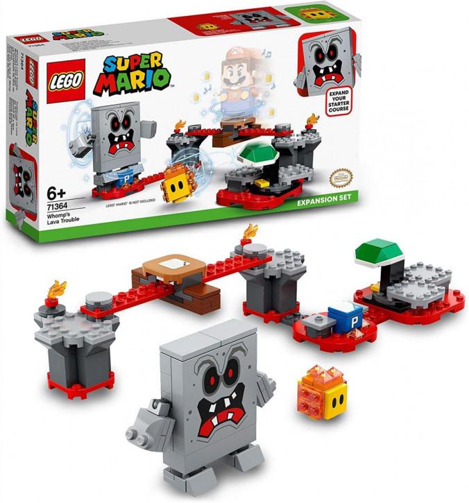 LEGO Super Mario 71364 – Wummps Lava-Ärger – Erweiterungsset