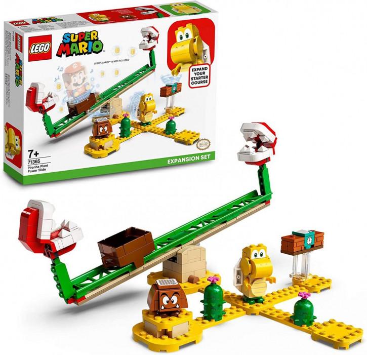 LEGO Super Mario 71365 – Piranha-Pflanze-Powerwippe – Erweiterungsset