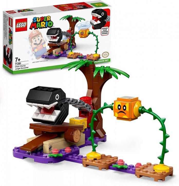 LEGO Super Mario 71381 - Begegnung mit dem Kettenhund