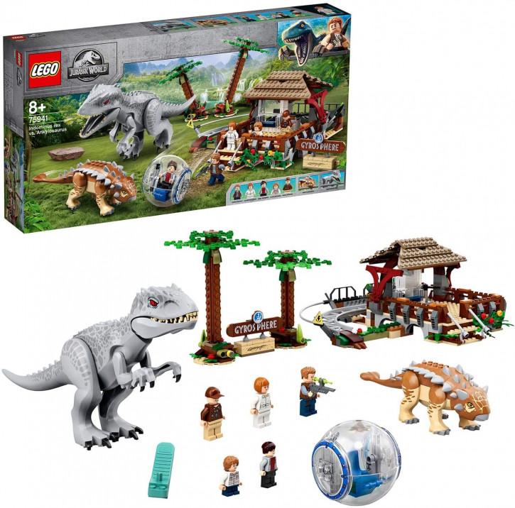 LEGO Jurassic World 75941 - Indominus Rex vs. Ankylosaurus