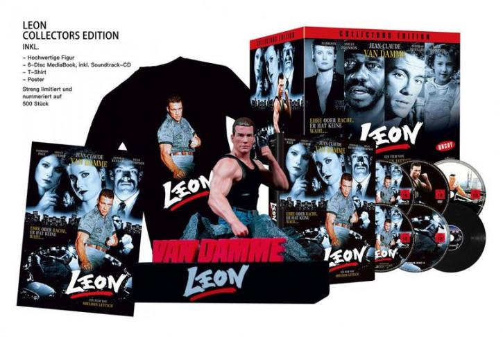 Leon - Büste inkl. Mediabook + T-Shirt [Blu-ray]