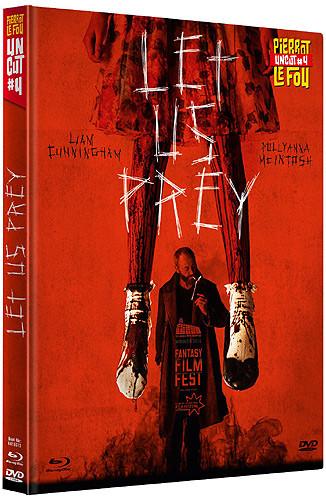 Let Us Prey - Pierrot Le Fou Uncut #4 [Blu-ray+DVD]