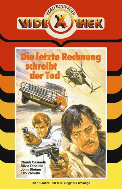 Die letzte Rechnung schreibt der Tod - grosse Hartbox - Cover A [Blu-ray]