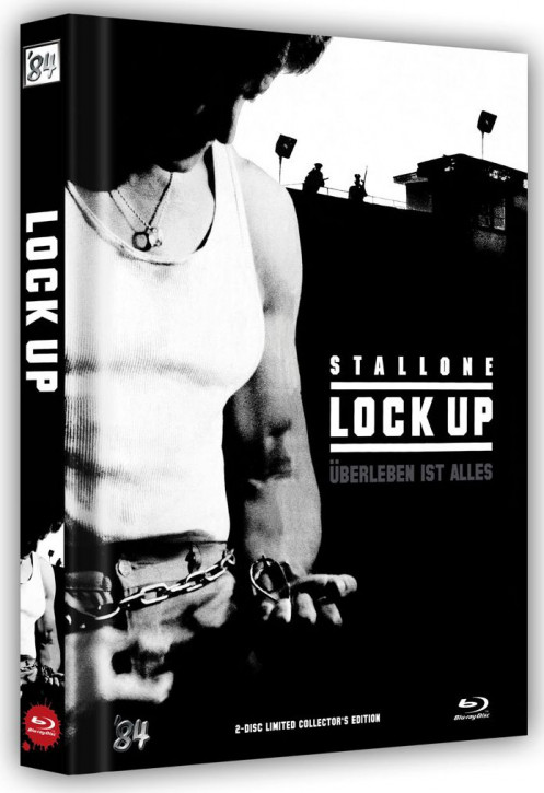 Lock Up - Limited Collector's Edition - Cover C [Blu-ray+DVD]