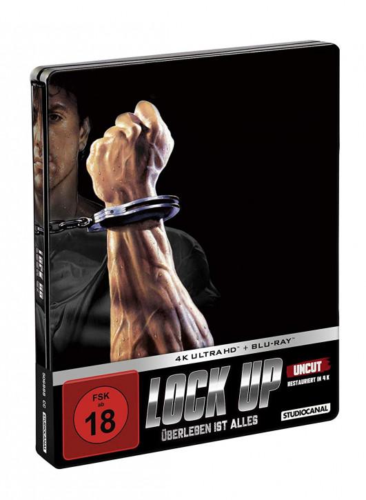 Lock up - Überleben ist alles - Limited Edition Steelbook [4K UHD Blu-ray]