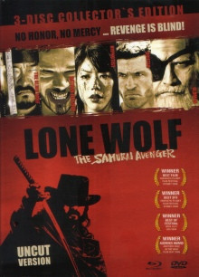 Lone Wolf – The Samurai Avenger - Limited Mediabook Edition - Cover A [Blu-ray+DVD]