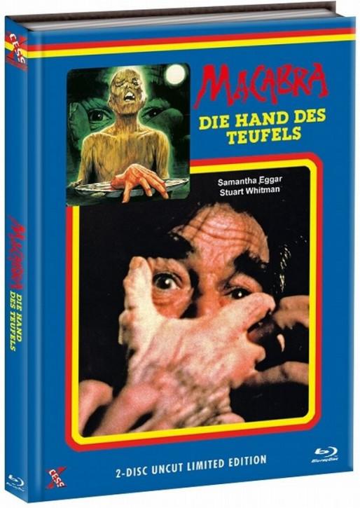 Macabra - Die Hand des Teufels - Mediabook - Cover A [Bluray+DVD]