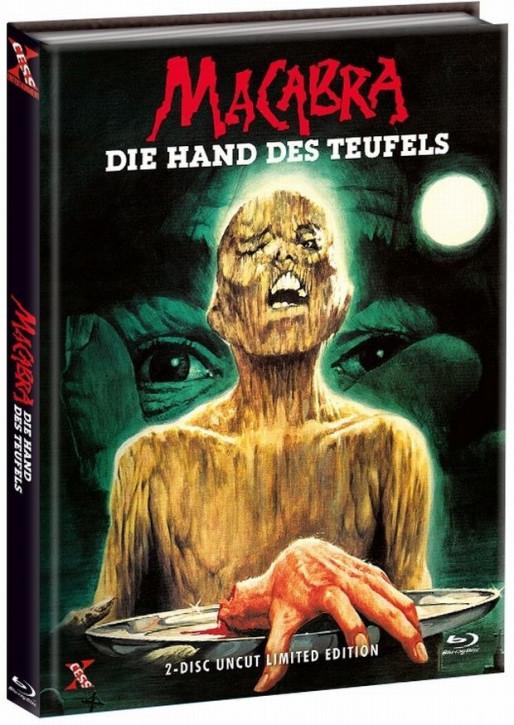 Macabra - Die Hand des Teufels - Mediabook - Cover B [Bluray+DVD]