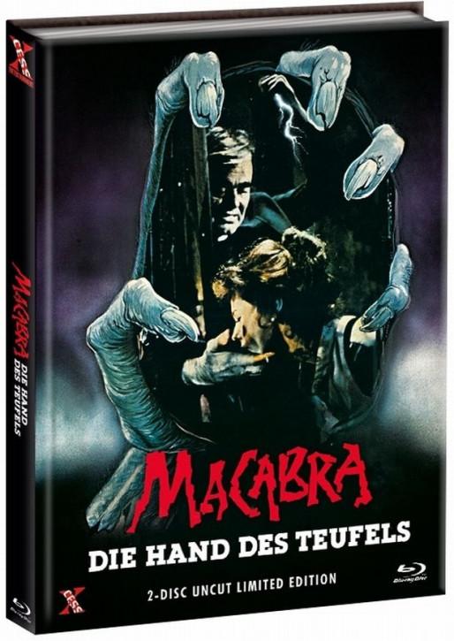 Macabra - Die Hand des Teufels - Mediabook - Cover D [Bluray+DVD]