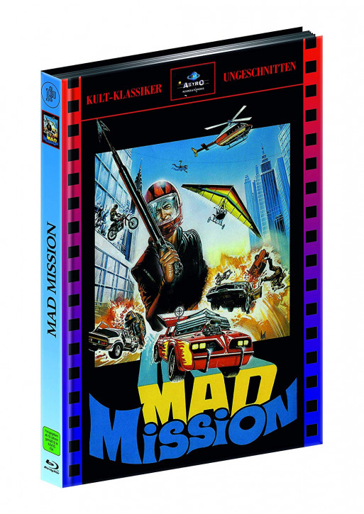 Mad Mission 1 - Limitied Mediabook Edition [Blu-ray]