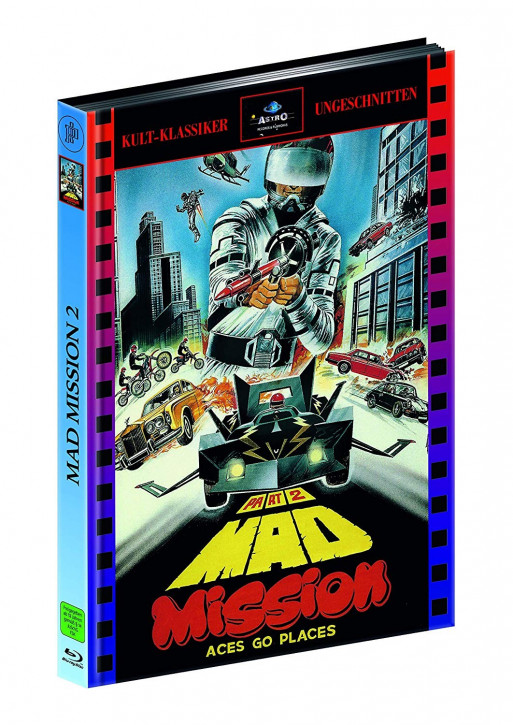 Mad Mission 2 - Limitied Mediabook Edition [Blu-ray]