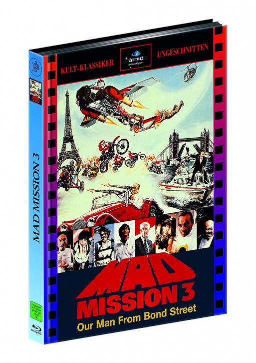 Mad Mission 3 - Limitied Mediabook Edition [Blu-ray]