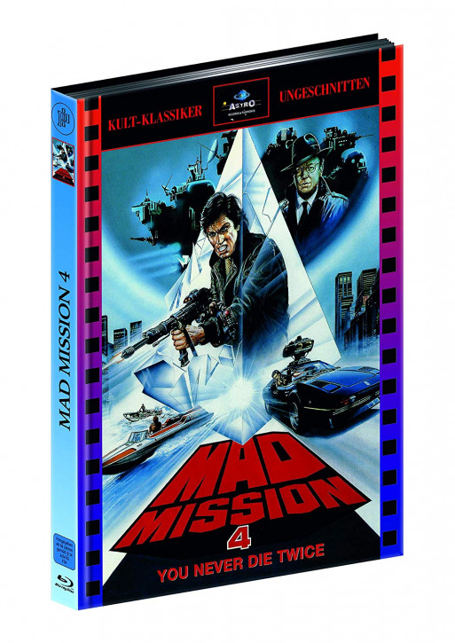 Mad Mission 4 - Limitied Mediabook Edition [Blu-ray]