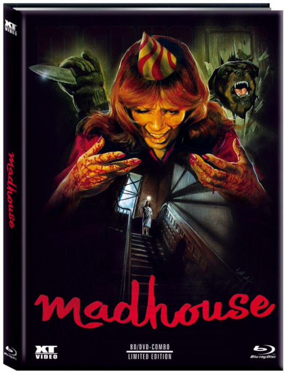 Madhouse - Party des Schreckens - Limited Edition - Cover B [Blu-ray+DVD]