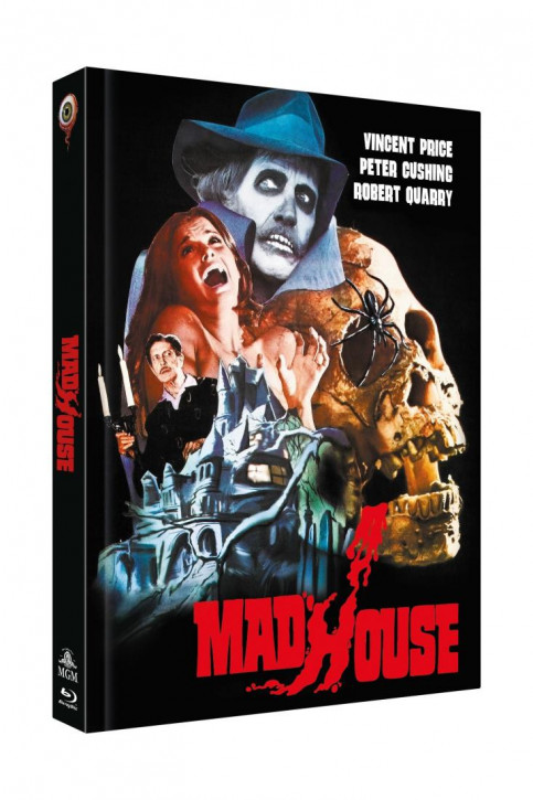 Madhouse - Das Schreckenshaus des Dr. Death - Limited Collectors Edition - Cover A [Blu-ray+DVD]