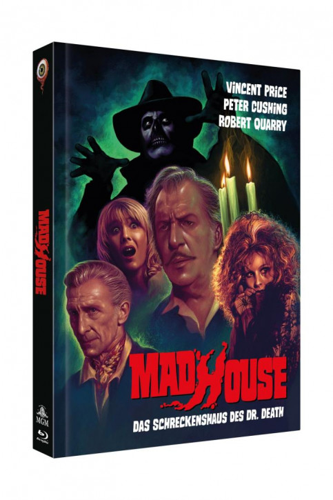 Madhouse - Das Schreckenshaus des Dr. Death - Limited Collectors Edition - Cover B [Blu-ray+DVD]