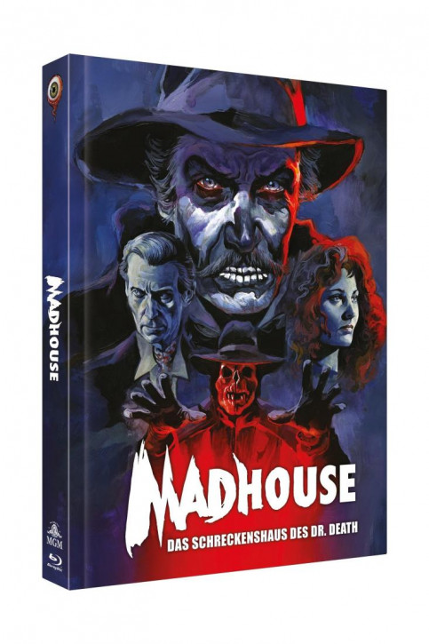 Madhouse - Das Schreckenshaus des Dr. Death - Limited Collectors Edition - Cover C [Blu-ray+DVD]