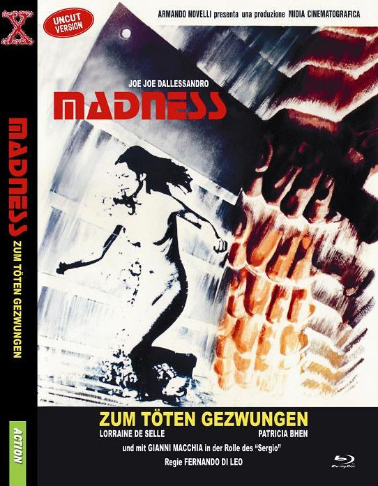 Madness - kleine Hartbox [Blu-ray]