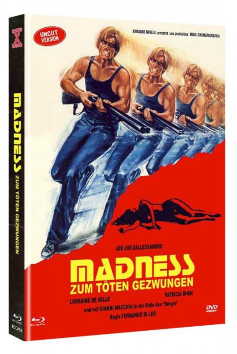 Madness - Zum Töten gezwungen - Eurocult Collection #54 - Mediabook - Cover A [Blu-ray+DVD]