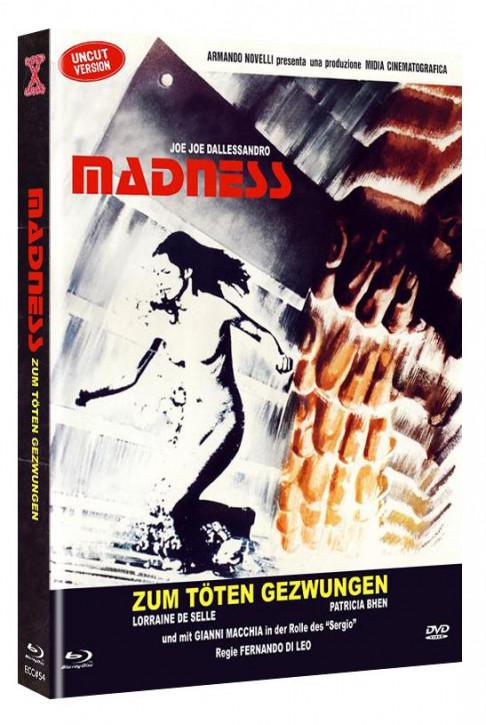 Madness - Zum Töten gezwungen - Eurocult Collection #54 - Mediabook - Cover B [Blu-ray+DVD]