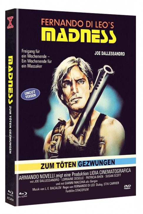 Madness - Zum Töten gezwungen - Eurocult Collection #54 - Mediabook - Cover C [Blu-ray+DVD]