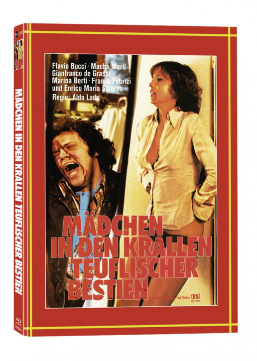 Mädchen in den Krallen teuflischer Bestien - Mediabook - Cover A [Blu-ray+DVD]
