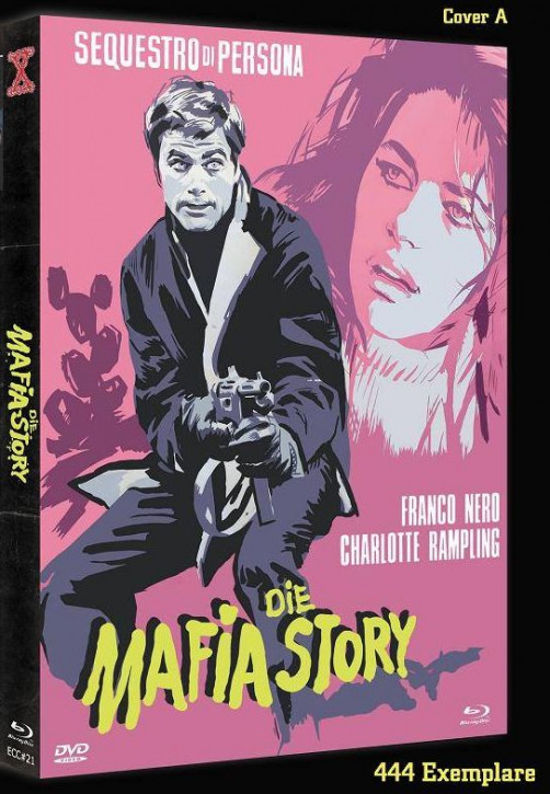 Die Mafia Story - Eurocult Collection #021 - Cover A [Blu-ray+DVD]